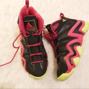 Adidas Crazy 8 G98384 Black Pink Green Size 8